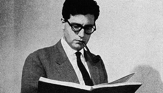 Fotografia Umberta Eca v časopise Pirreli (1961)