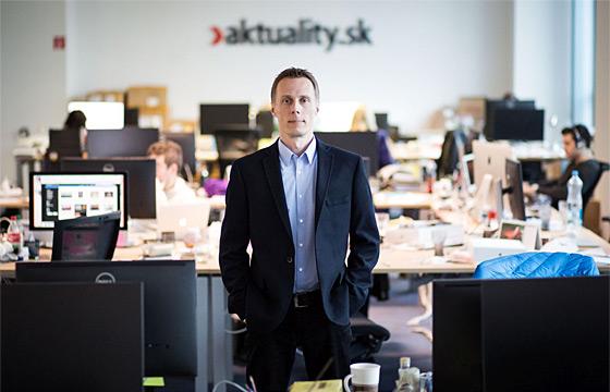 Marek Vagovič, Aktuality.sk