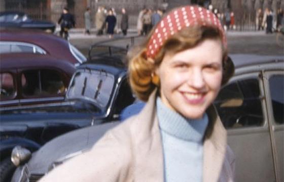 Sylvia Plathová v Paríži 1956