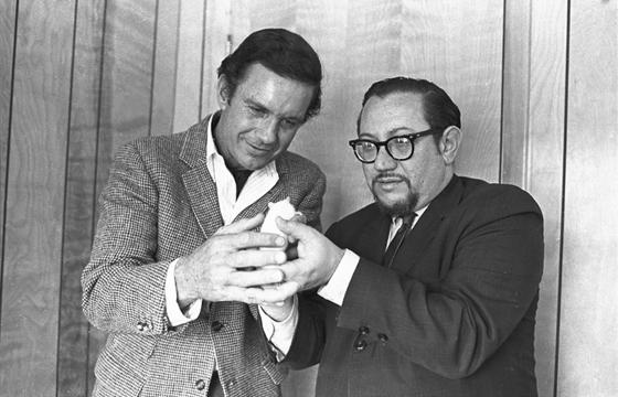 Cliff Robertson a Daniel Keyes 1968