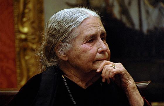 Doris Lessingová 2008