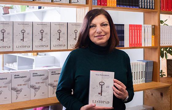 Spisovateľka Alena Mornštajnová (2021)