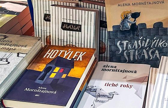 Predchádzajúce tituly Aleny Mornštajnovej