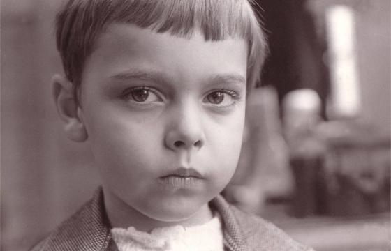 György Dragomán ako chlapec