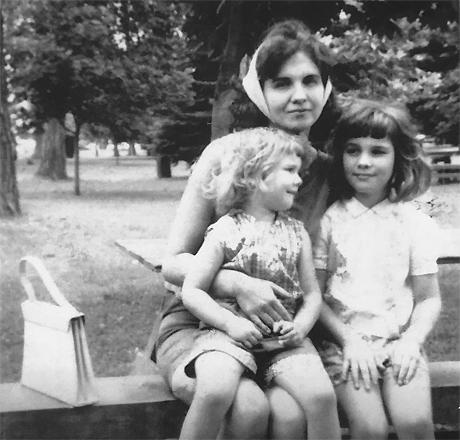 Alice Munroová s dcérami