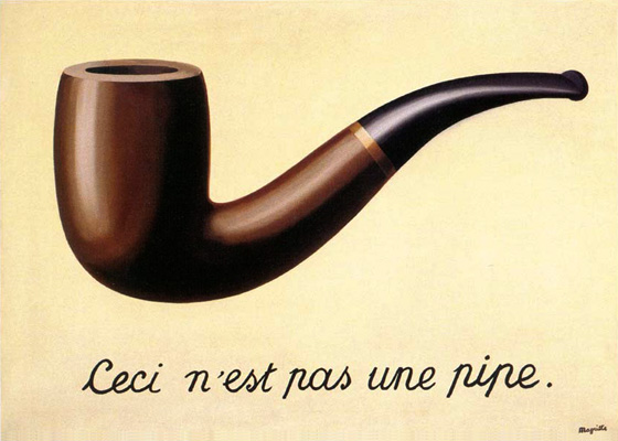 René Magritte: La trahison des images (1928–29)